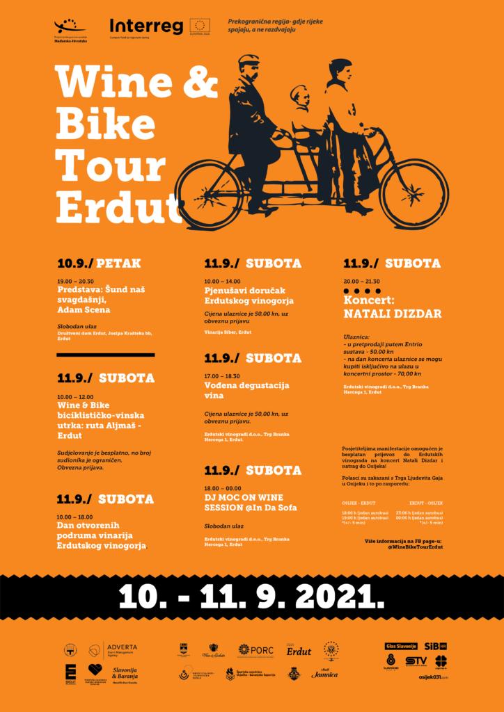 WINE & BIKE TOUR ERDUT, 10. – 11.09.2021.